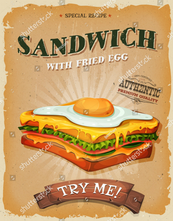 grunge-vintage-sandwich-shop-takeaway-flyer-template