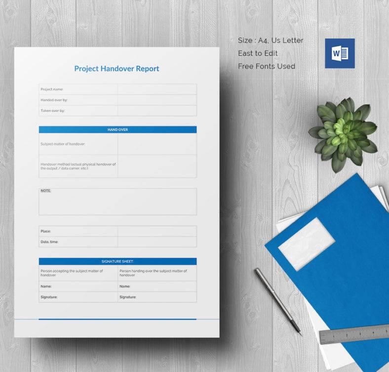 Project Handover Report