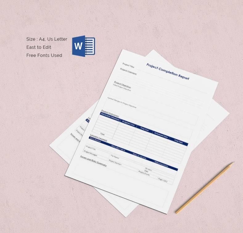 Free Handover Report Templates  Word  Free  Premium Templates