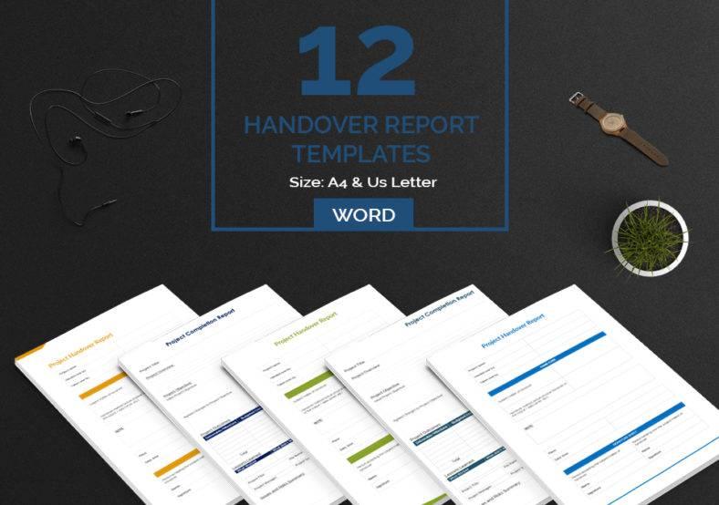 handover report bundle