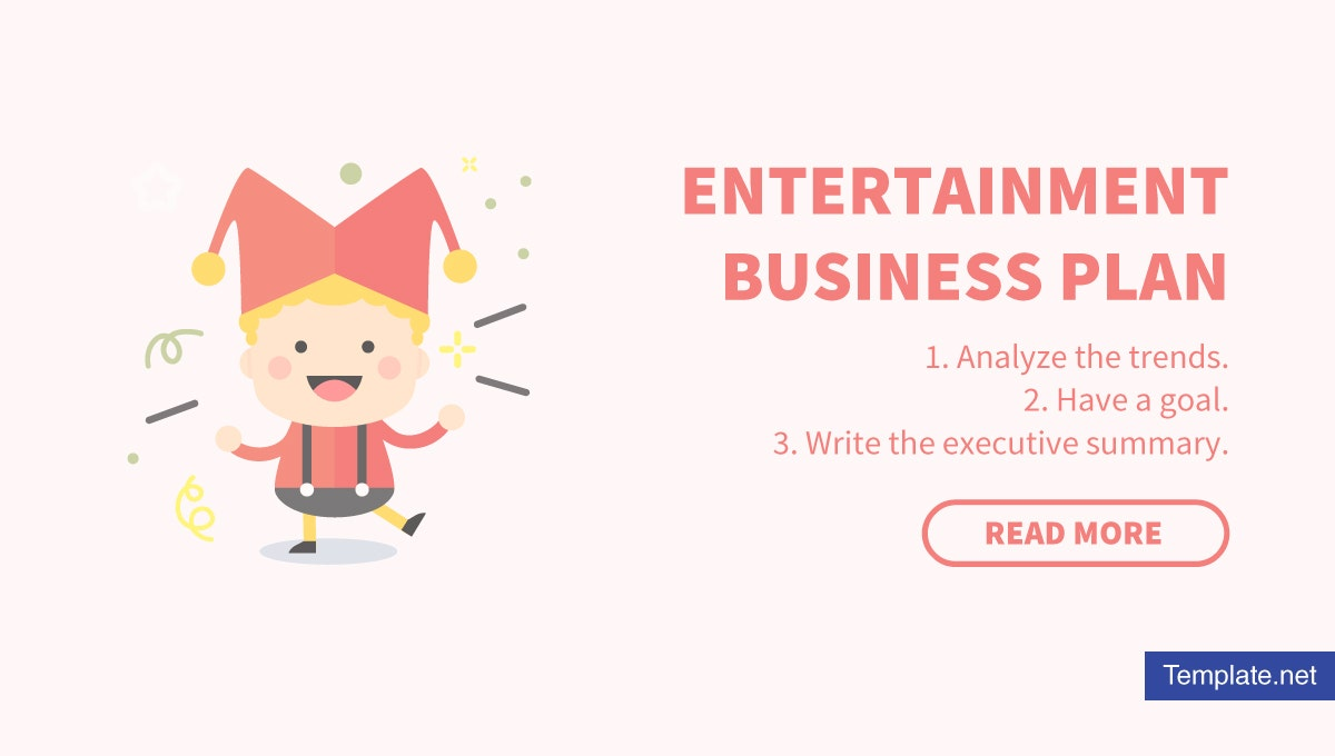 how to create an entertainment business plan 1