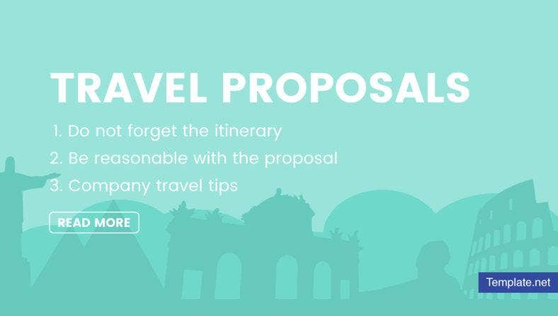 Ho to Write Travel Proposals