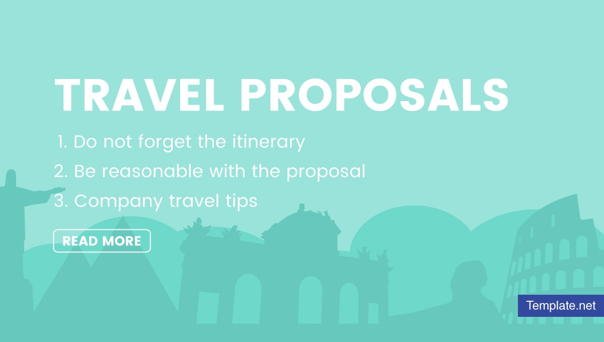 how to write travel proposals 1