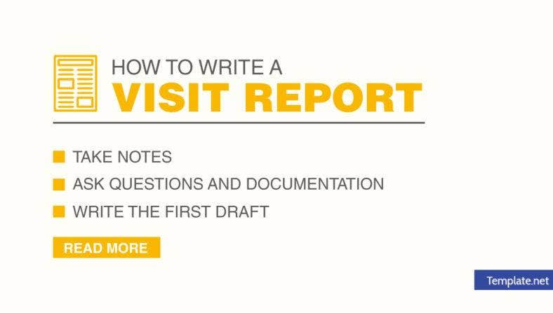 how-to-write-a-visit-report