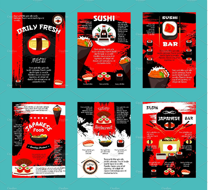japanese-restaurant-and-sushi-bar-takeaway-template