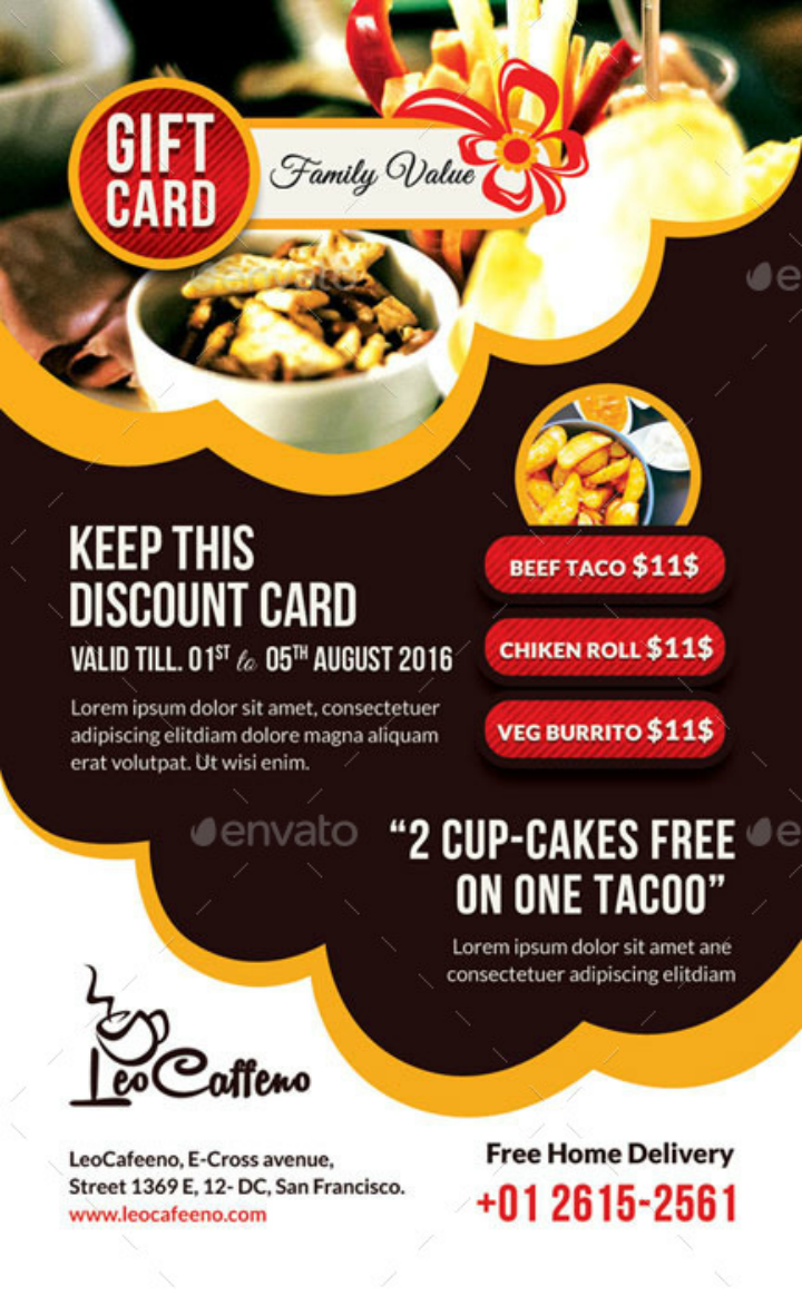 large-restaurant-gift-card-template