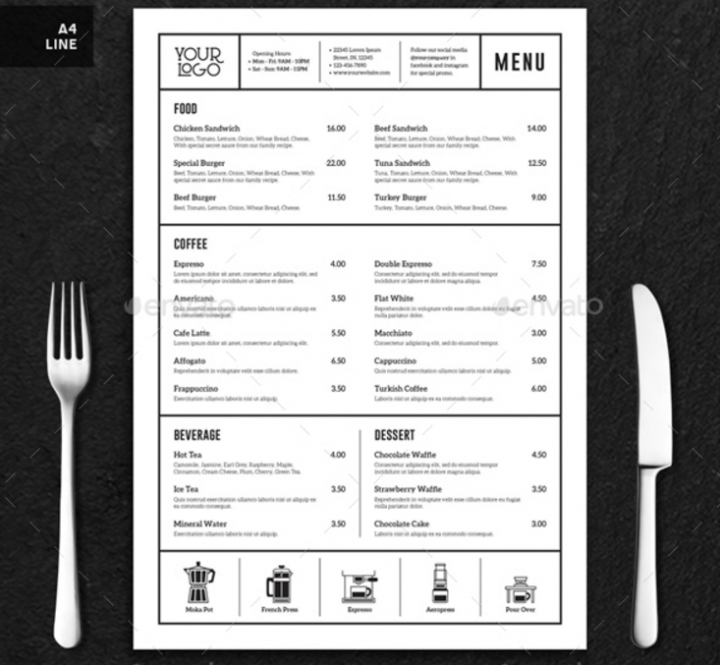minimalistic-coffee-shop-menu