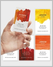 printable-watercolor-business-card