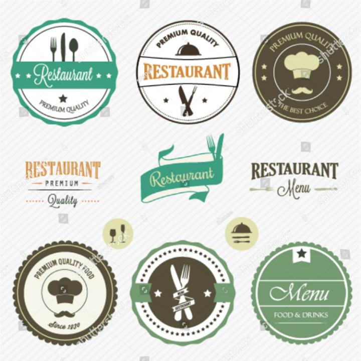 restaurant-labels-tag-template-set