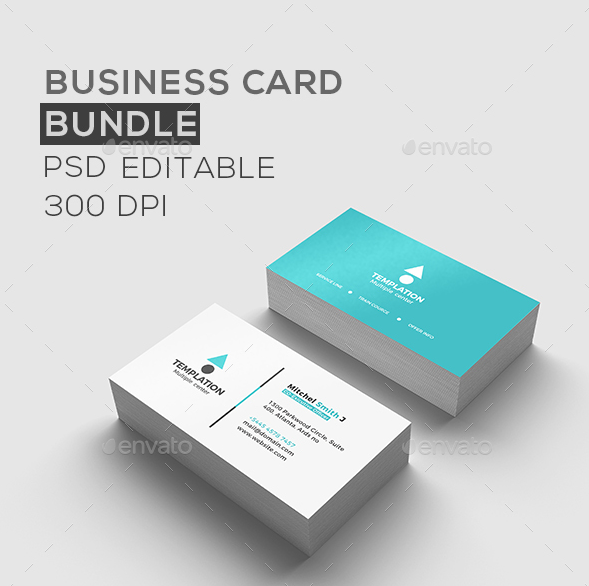 business card bundle - Simple Business Card Design