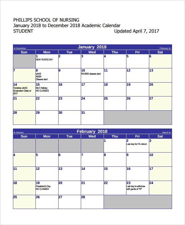 University Calendar Design : Free calendar templates designs for psd doc