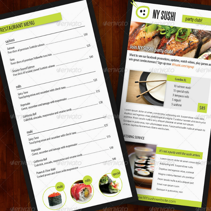 sushi-restaurant-catering-brochure-template