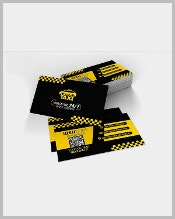 taxi-service-card-template