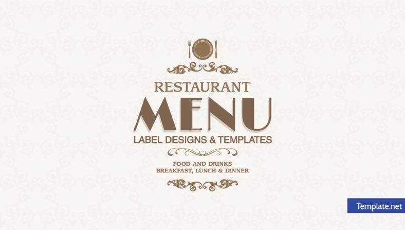 unique-restaurant-menu-label
