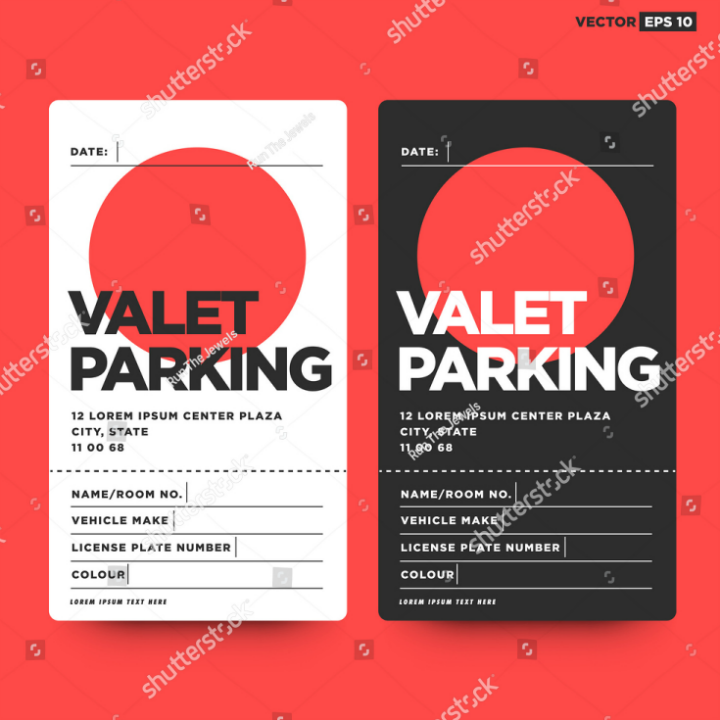 19  parking ticket designs  u0026 templates
