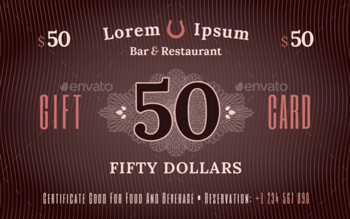 vintage-restaurant-gift-card-template