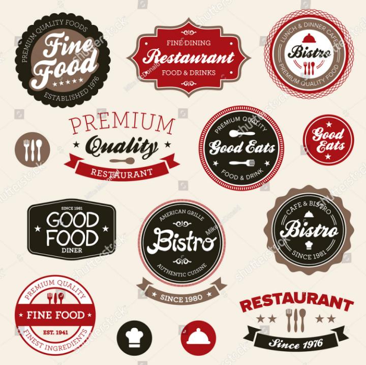 vintage-restaurant-labels-tag-template-set