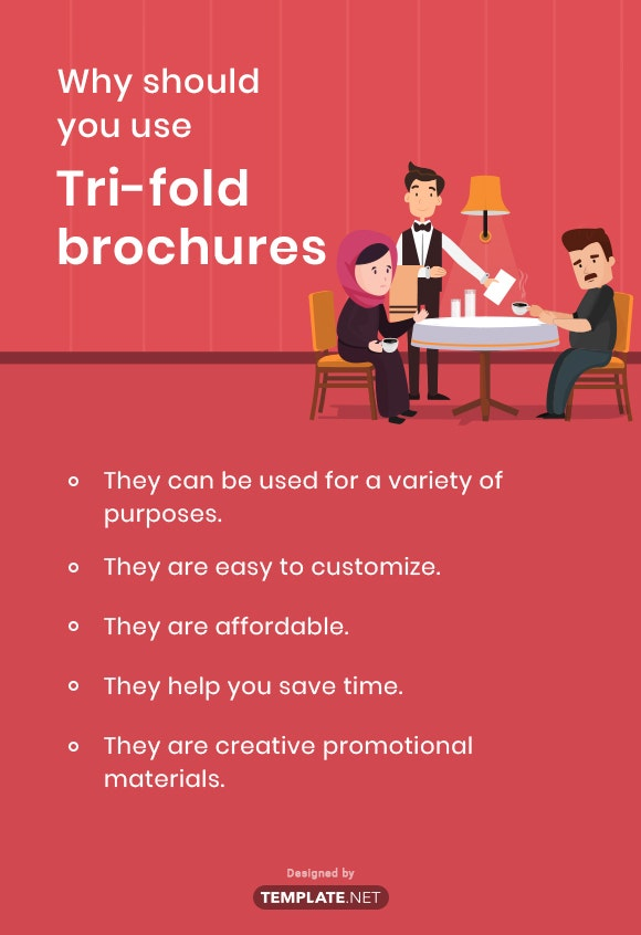 why should you use tri fold brochures