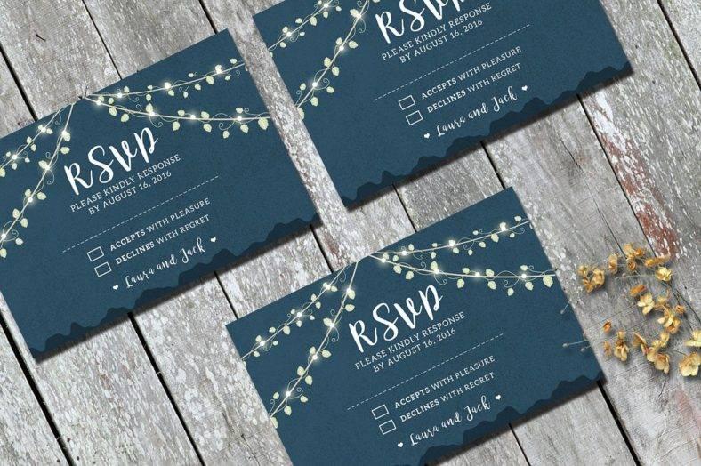 15 printable rsvp card designs templates free premium templates