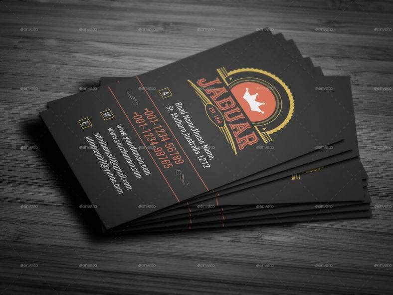 15 vintage business card designs templates psd indesign black vintage business card wajeb Choice Image