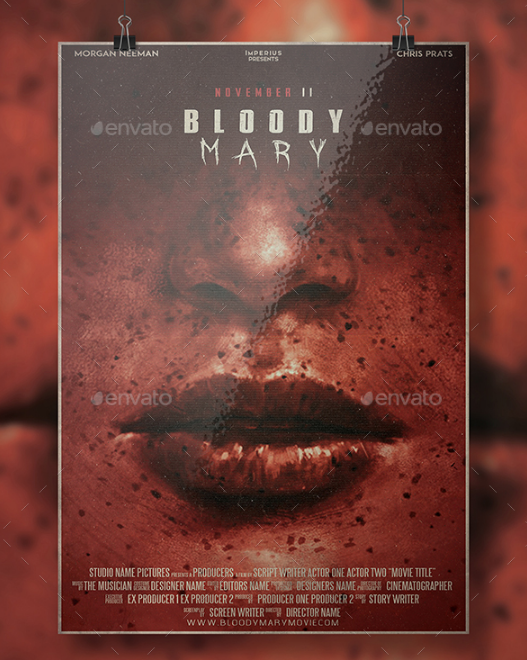 bloody mary movie flyer