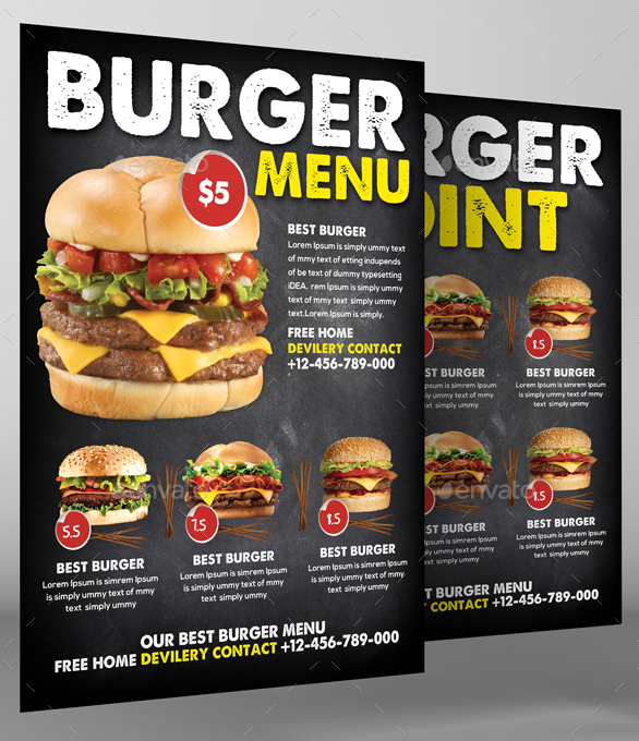 35  burger menu designs  u0026 templates