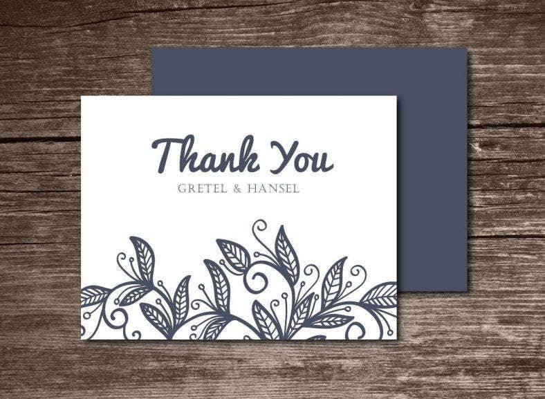 chic thank you note card 788x577