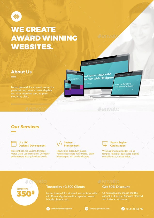 clean-web-designer-flyer