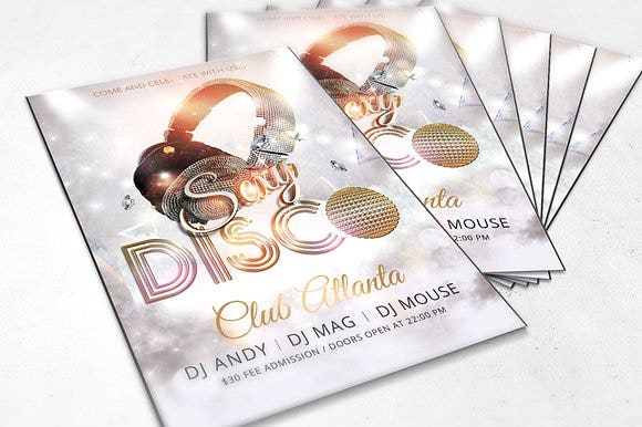 disco-club-flyer