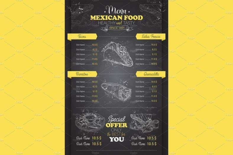 drawing-vertical-scetch-of-mexican-food-menu-design-on-blackboard-2