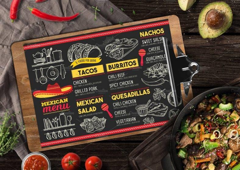 11 mexican menu designs templates psd ai free premium
