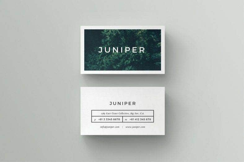 sample business card - Simple Business Card Design