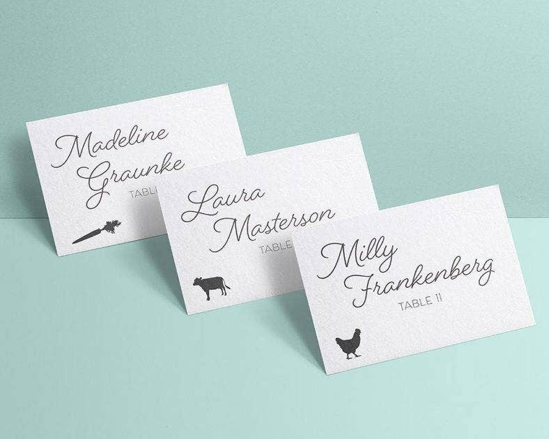 meal choice place card 788x630