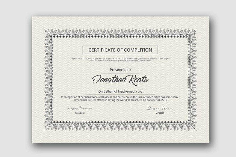 neat-course-completion-certificate