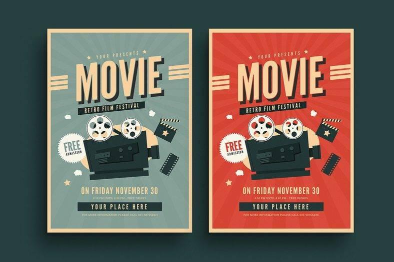 old-retro-movie-flyer