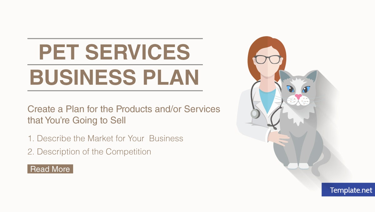 pet services business plan