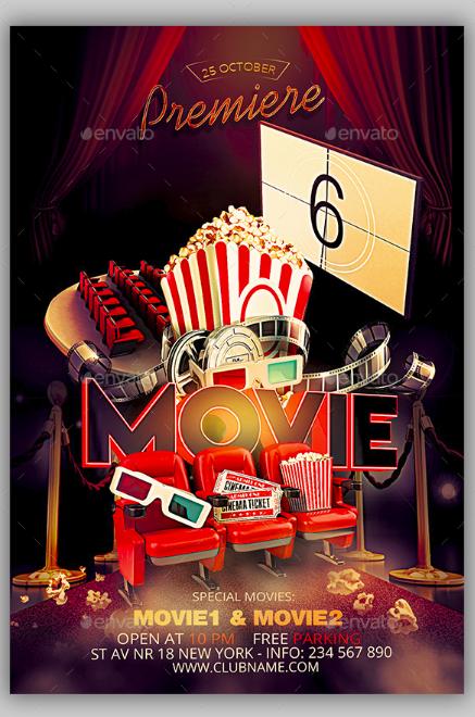 premier-movie-flyer