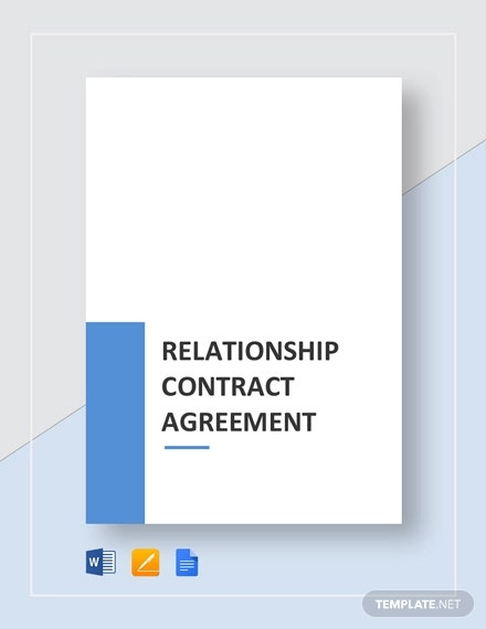 relationship contract agreement