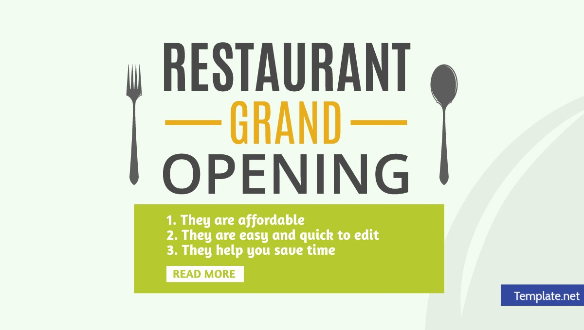 15 Restaurant Grand Opening Invitation Designs Templates Psd