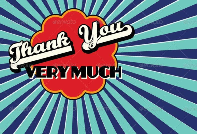 retro thank you note card 788x536