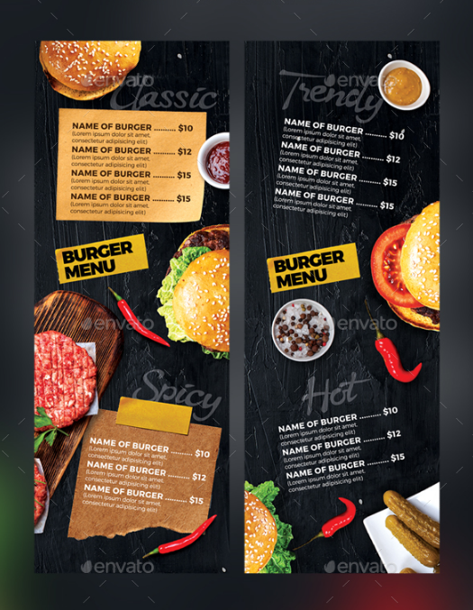 sleek-burger-menu
