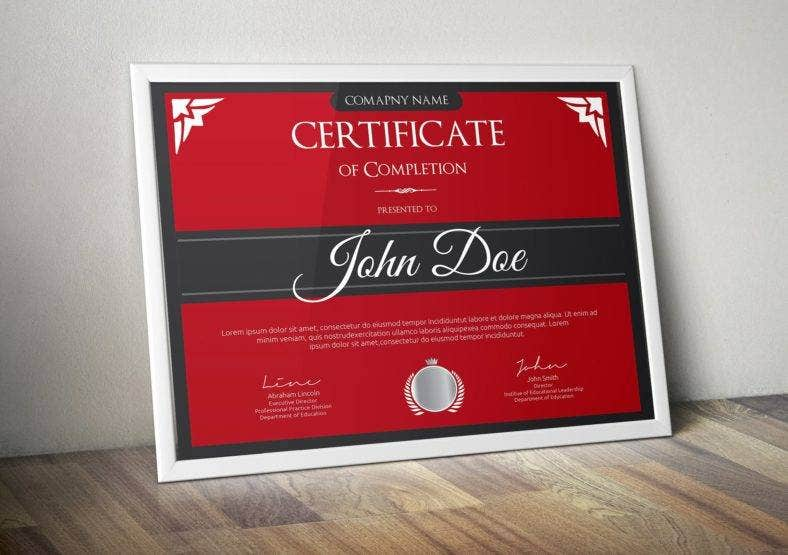 sleek-course-completion-certificate