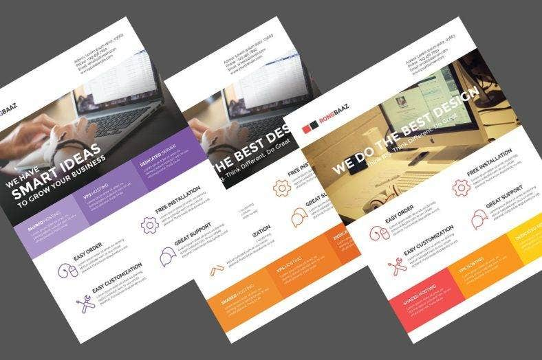web-design-flyer