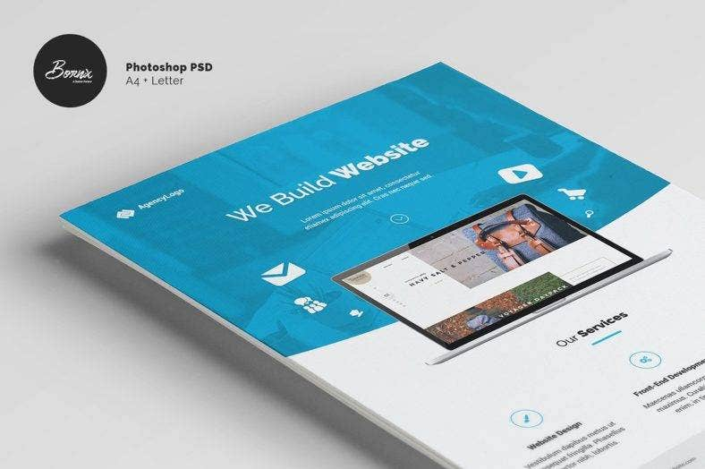 web-designer-flyer-template