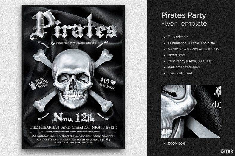 02_pirates-party-flyer-template