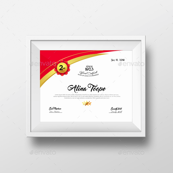 academical diploma certificate design