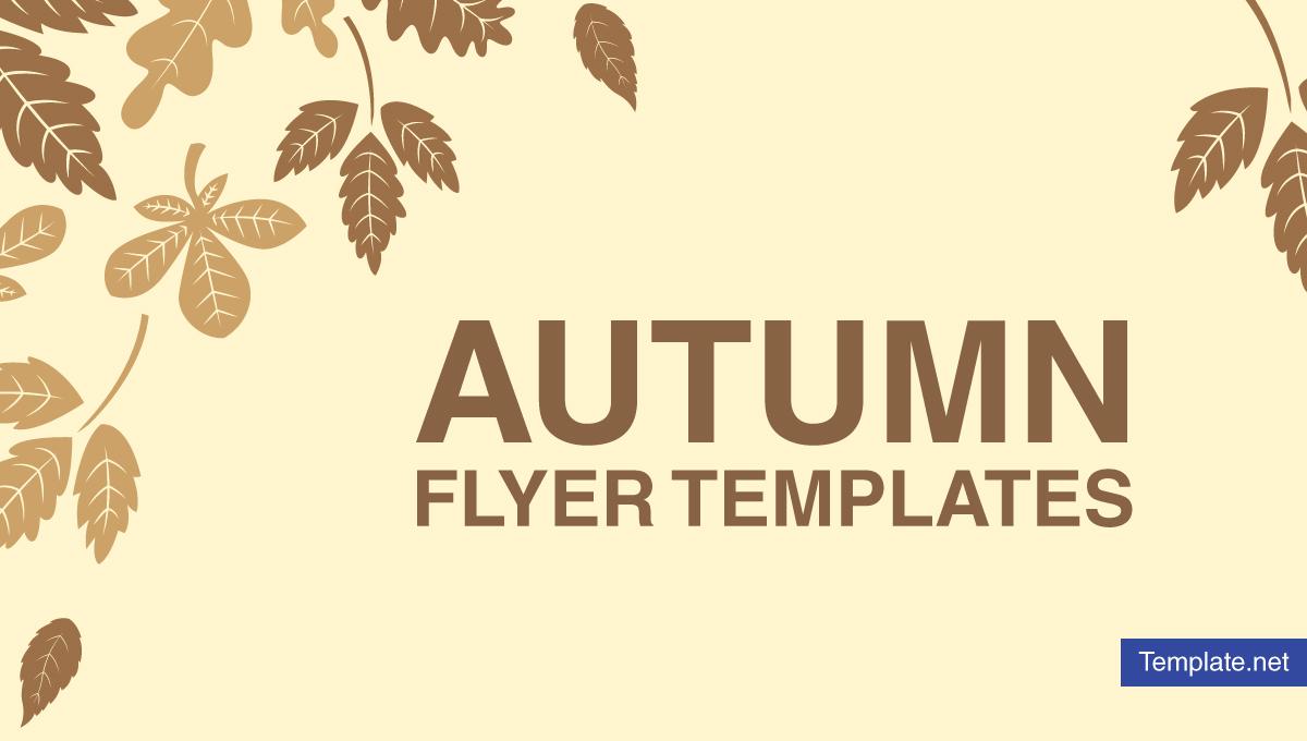 autumnflyertemplates