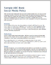 bank-social-media-policy-template