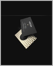 black-business-cards-with-gold-foil