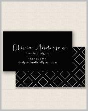 black-printable-business-card